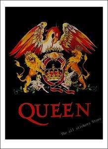 Image 2 - Queen di Musica per Banda di Carta Kraft Poster Vintage di Alta qualità di Stampa di Disegno nucleo Pittura Decorativa Autoadesivo Della Parete/910