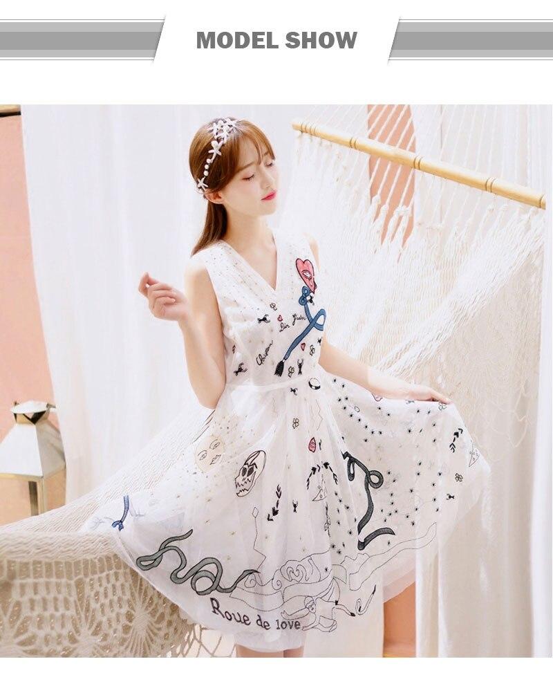 ④Ky & Q nuevas mujeres bordadas flores de palma algodón Encaje ...