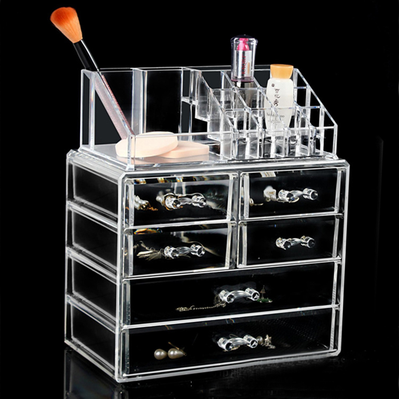 4 Drawers Acrylic Nail Storage Case Transparent Lipstick  Jewelry Container Manicure Nail Desktop Tool Display Shelf4 Drawers Acrylic Nail Storage Case Transparent Lipstick  Jewelry Container Manicure Nail Desktop Tool Display Shelf