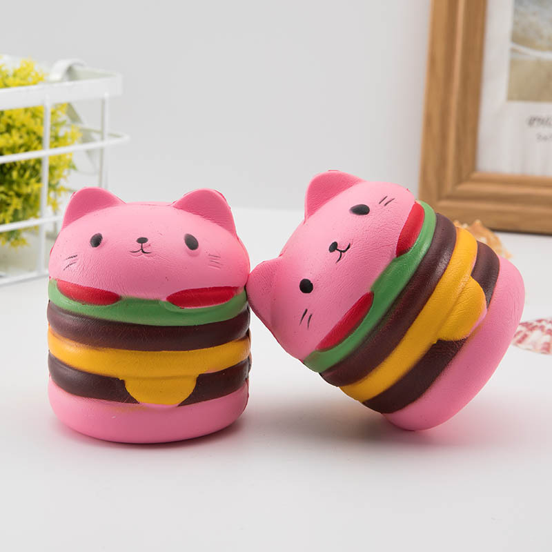 Pink Bunny Squishy Novelty Toy Compression PU Cat Squishy Cute Piggy Super Slowly Raised Scent Buffer Stress Gift