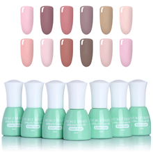 Фотография NICOLE DIARY 6ML 22 Pure Colors Gel Varnish Gel Nail Polish Art Vernis Permanent Uv for Stamping Nagellak Soak-off