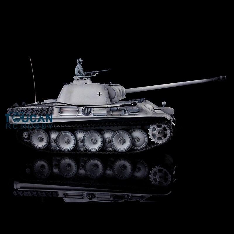 HengLong 1/16 Scale Winter Snow German Panther G RTR RC Tank 3879 Metal Tracks Wheels henglong 3879 3879 1 1 16 rc tank parts metal drive wheels 2pcs set free shipping
