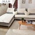 4 colores 2/3 asiento sofá cubiertas esquilmado tejido de punto ecológico anti-ácaros Manta Sofa funda de la cubierta del sofá sala de estar / dibujo Room