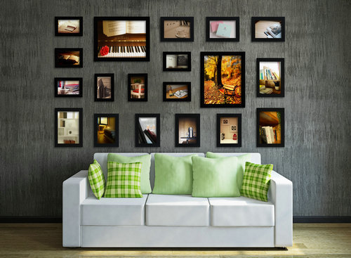 Po Frame Quadro Foam Home Living Room Wall Mounted Creative Fp 20 B Decoration