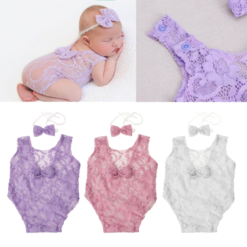 Romper, Props, Baby, Outfit, Lace, Girls