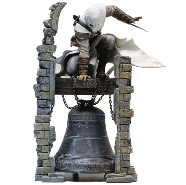 Free Shipping 11 Game Assassin's Creed Legendary Altair Bell Tower Ver. Boxed 28cm PVC Action Figure Collection Model Doll Toy a toy a dream new hot 28cm assassins creed altair ibn la ahad edward action figure toys doll collection christmas gift with box