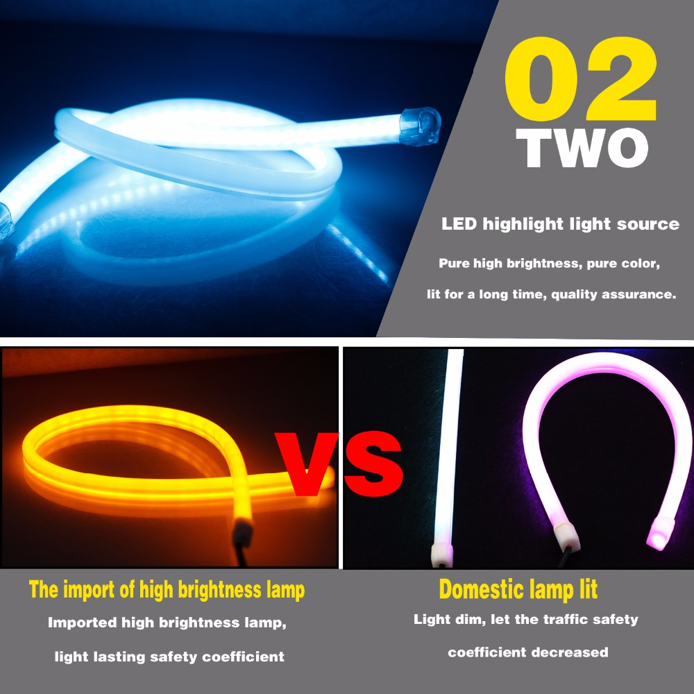 ΓΕΕΤΑΝ 2pcs 30cm 45cm 60cm Φως ημέρας - Φώτα αυτοκινήτων - Φωτογραφία 3