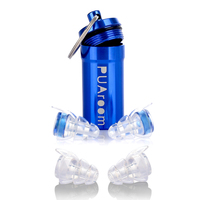 High Fidelity Musician Earplugs Silicone Noise Reduction Ear Protection With Carrying Case For Concert Travel Other