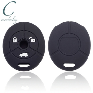 Image 1 - Cocolockey Silicone Car Key Cover Fit for MG Rover 25 35 ZT 3Buttons Remote Key Rubber Car Key Case Car Styling