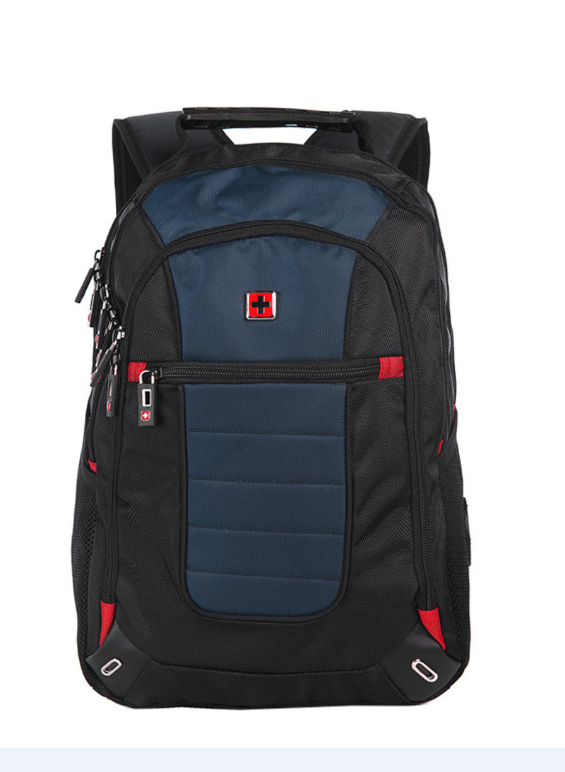 swisswin brand fashion men backpack 156 inch laptop backpack for business travel large capacity backpack swe1052