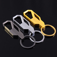 Men Metal Keychains Male Women Creative Car Key Ring Chain Hang Small Gifts 10PCS MIX