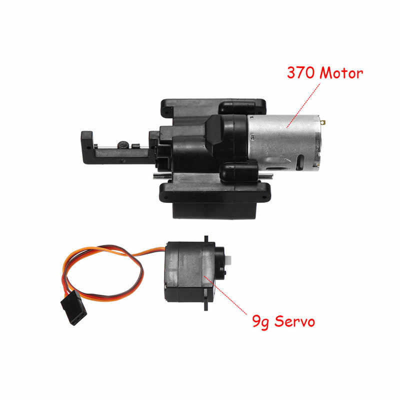 New Durable Speed Change Gear Box For WPL B1 B24 B16 C24 1/16 4WD 6WD Rc Car 10km/h-30km/h