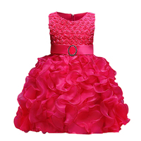 Flower Girl Dress For Wedding Baby Girl 3 9 Years Birthday Outfits Children S Girls First