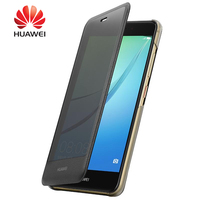100 Original Smart View Cover For Huawei Nova Case Frosted PC Hard Plastic Protector Cover For