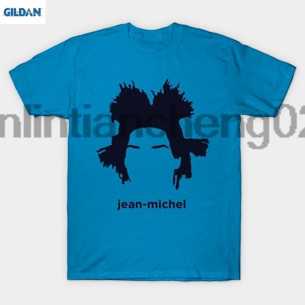 GILDAN Jean Michel Basquiat (Hirsute History) T Shirt