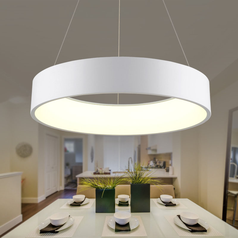 Minimalism agățat Modern Led Pandantiv Lumini pentru Sufragerie Bar - Iluminatul interior - Fotografie 4