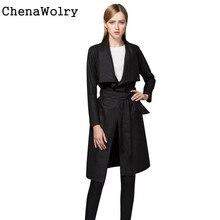 Casual Slim Fit Women's Fashion Slim Long Sleeve Coat Windbreaker Parka Outwear Cardigan Free Shipping Dec 5