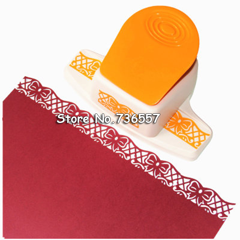 Big New Arrival Fancy border punch S flower design embossing punch scrapbooking handmade edge device DIY paper cutter Craft gift new arrival o min punch
