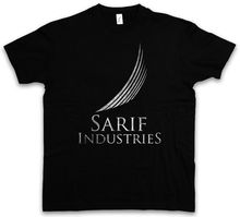 SARIF LOGO T-SHIRT Firmenlogo Game Company Industries Insignia Sign Men T Shirt Lowest Price 100 % Cotton