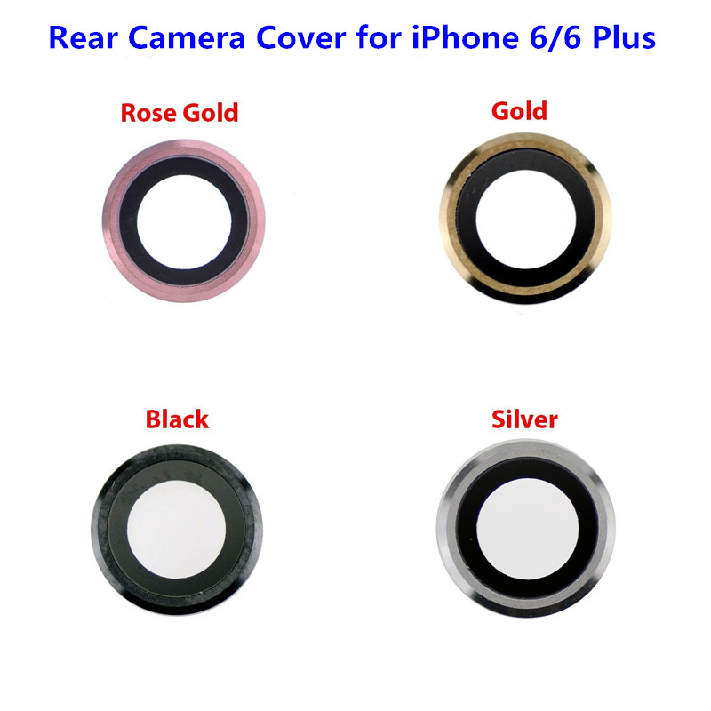 1PC NEW Camera Lens Cover for iPhone 6 6s Plus 6plus Rear Back Camera Lens Glass Cover Frame Holder Replacement Part