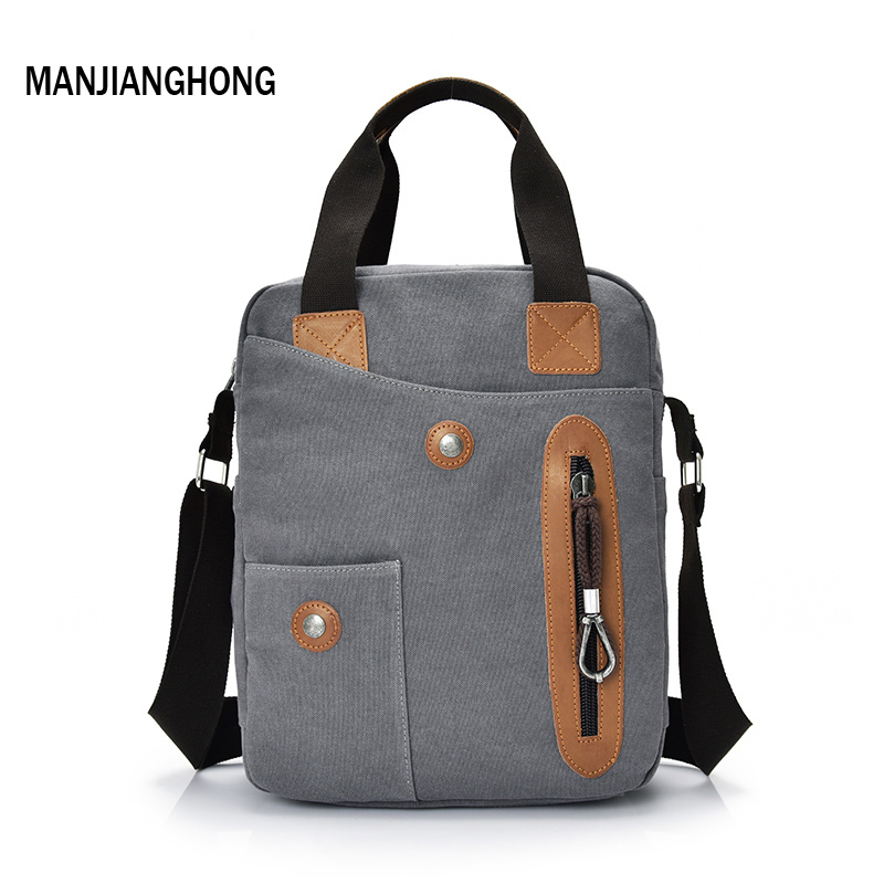 MANJIANGHONG Crossbody bag New Multifunction Men Retro handbags Women Canvas Bags Shoulder Messenger Bags Leisure Package 2018 unisex retro new 2015 canvas leather women messenger bags men crossbody bag shoulder bag duffel bags weekend free shipping