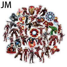 50/Lot stickers for MARVEL superheroes for car decals refrigerator notebook skateboard iron man PVC Waterproof(China)