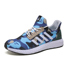 Hot Sale New Men's Outdoor Running Shoes Breathable Male Sneakers Adult Non-slip Comfortable Mesh Athletic Shoes  Big Size 46 2018 hot sale woman sneakers sport shoes breathable autumn athletic anti slip casual mesh shoes