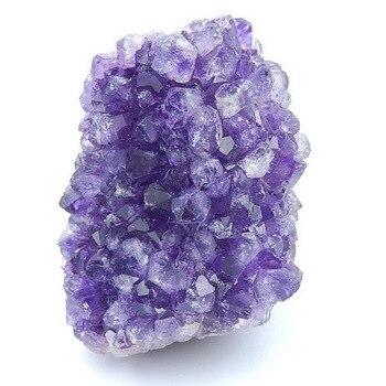 Wholesale gemstone, Semiprecious stone Material,Ameythst gemstone material specimen,73x50x43mm,183.2g