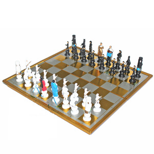Image 5 - High quality Cartoon Character Magnets International Chess Portable Chess Teaching Training Children/Teenager Gift For Hot Sale