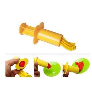 Image 2 - カラープレイ生地モデルツールおもちゃクリエイティブ3D粘土ツールplaydoughセット粘土金型デラックスセット学習教育おもちゃ
