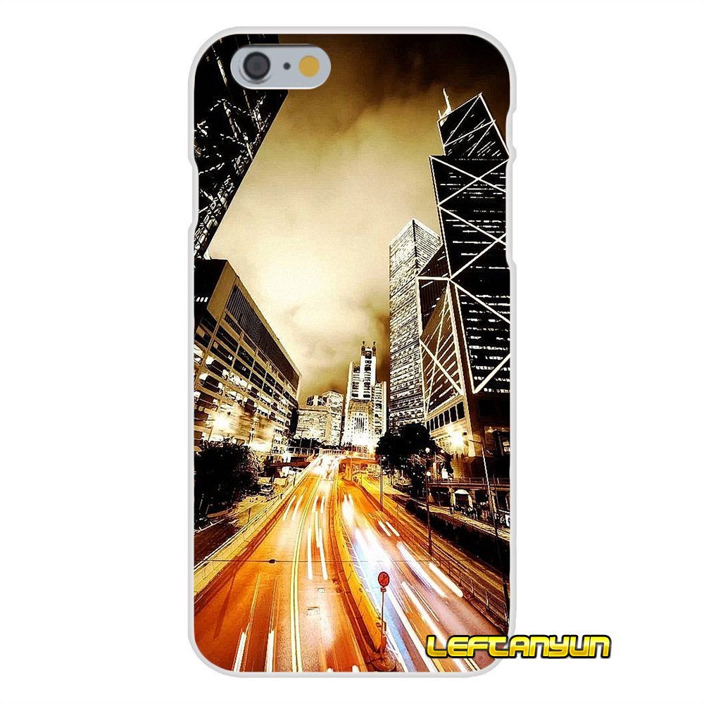Hong Kong Sunset Skyscraper City Bay For Samsung Galaxy A3 A5 A7 J1 J2 J3 J5 J7 2015 2016 2017 Accessories Phone Shell Covers