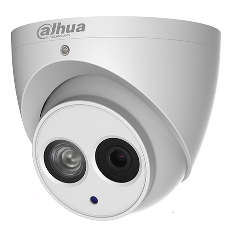 Image 2 - Dahua POE 6Mega Pixel IP camera IPC HDW4631C A H.265 6MP CCTV Dome Mental Security Camera Built in Mic ONVIF with brPFB204W hot-in Surveillance Cameras from Security & Protection