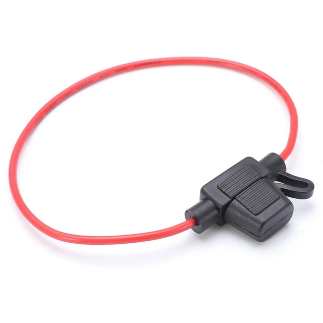 1pcs waterproof auto inline mini in-line fuse holder small waterproof  harness seat with line fuse box 30cm