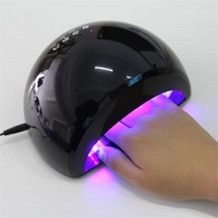 60 LED Lamp Light Nail Acrylic Dryer Polish For LED/UV Curing Gel + 4 Auto Timer Provide Professional Salon Results UK PLUG