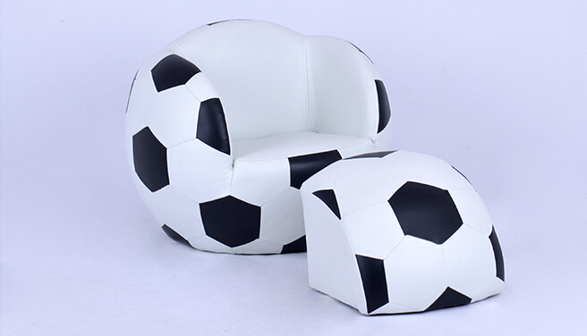 Children's Sofa. Lovely Creative. Cartoon Football Sofa Chair