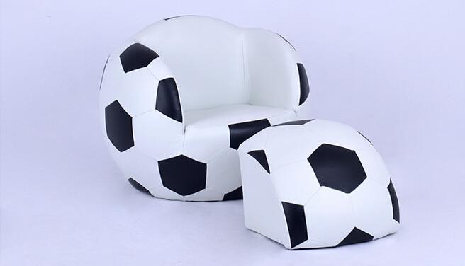 Childrens sofa. Lovely creative. Cartoon football sofa chairChildrens sofa. Lovely creative. Cartoon football sofa chair