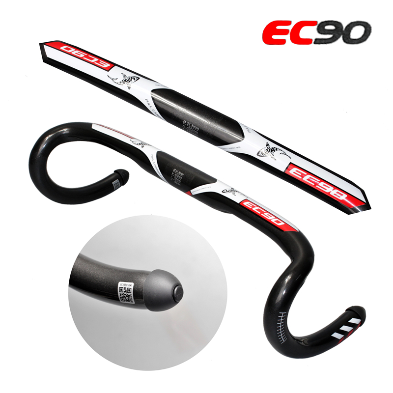 EC90 carbon Road bicycle handlebar fiber 2017 The new road bicycle handlebar / bicycle handlebar bend free delivery 400/420/440 rockbros road bicycle carbon handlebar cycling carbon fiber racing bend handlebar bike bent handle bar 400 420 440 bicycle parts