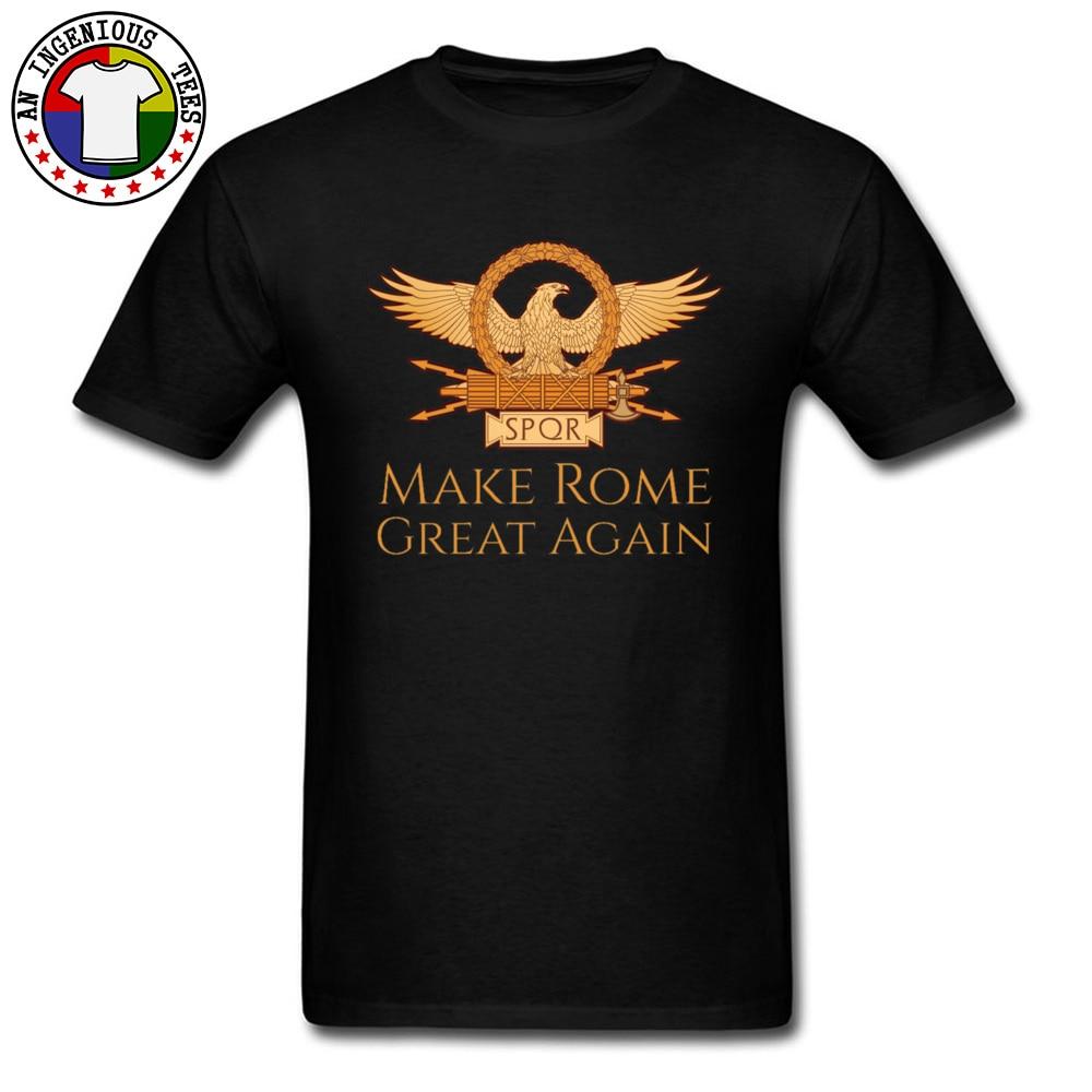 Roamer Kultur T Hemd Machen Rom Große Wieder Adler Symbol T-shirt Übergroßen Europa T Shirts Schwarz Kleidung Retro Designer