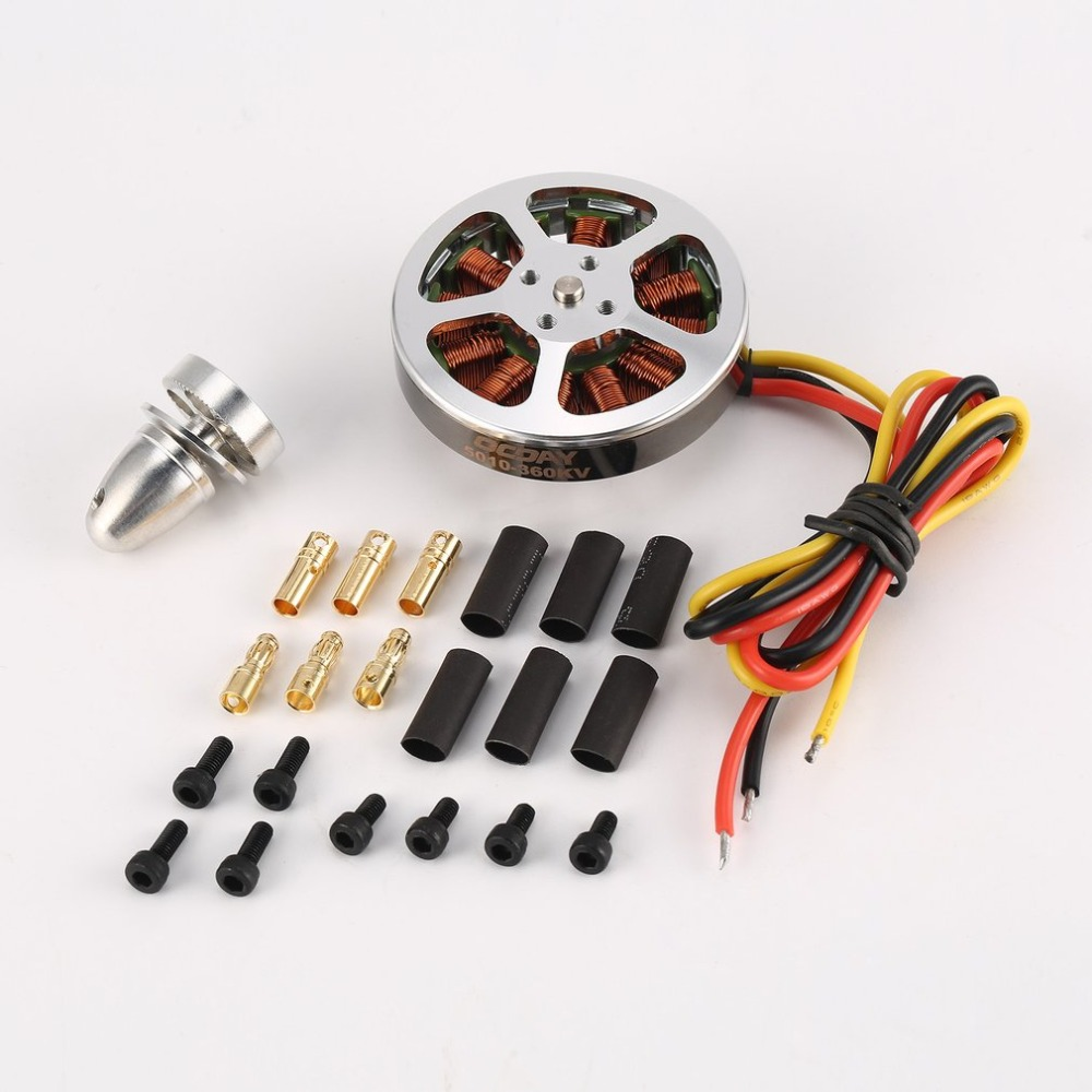OCDAY 110g 5010 360/750KV Haute Couple En Aluminium Brushless Moteurs Pour ZD550 ZD850 RC Multicopter Quadcopter