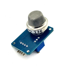 MQ 136 mq136 sensor de gás de sulfeto de hidrogênio sonda, sensor sonda, módulo de detecção de gás h2s