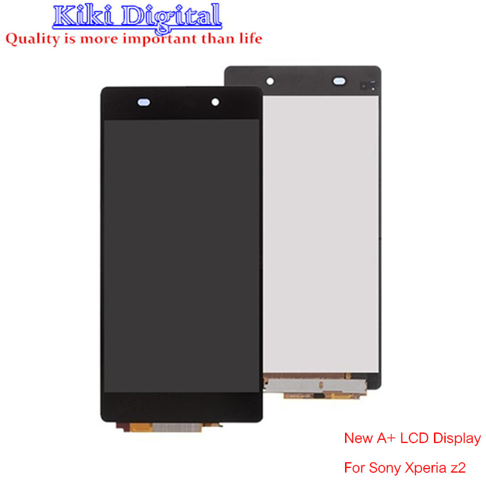 ФОТО New Original LCD For Sony Xperia Z2 L50W D6503 LCD Screen Display with Touch Digitizer Assembly free shipping+Glass film