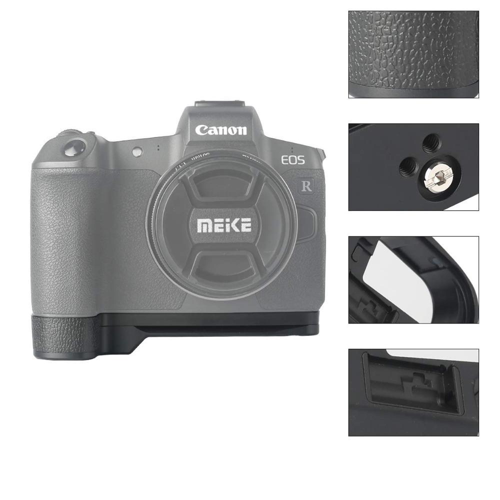 Meike MK-EOS RG L-Soporte de la placa base de metal soporte para accesorios Canon EOS R