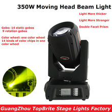 2017 New Arrival 350W 17R LED Beam Moving Head Spot Light Stage Effect DJ DMX Disco Luces Discoteca Strobe Party Lights