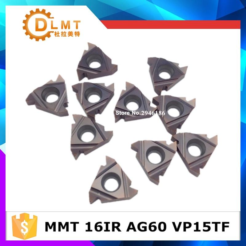 10 db MMT 16IR AG55 AG60 VP15TF menetvágó szerszámok Keményfém - Szerszámgépek és tartozékok - Fénykép 5