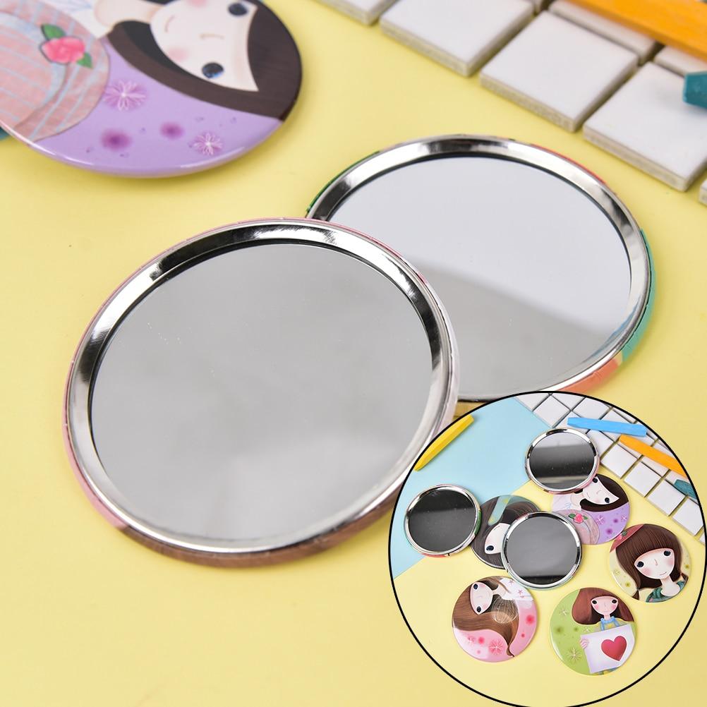 Spiegel Mädchen Mini Taschenkosmetikspiegel Kosmetische Kompakte Spiegel Espelho De Maquiagem Espejos De Bolsillo ZufÄllig Attraktives Aussehen Schminkspiegel