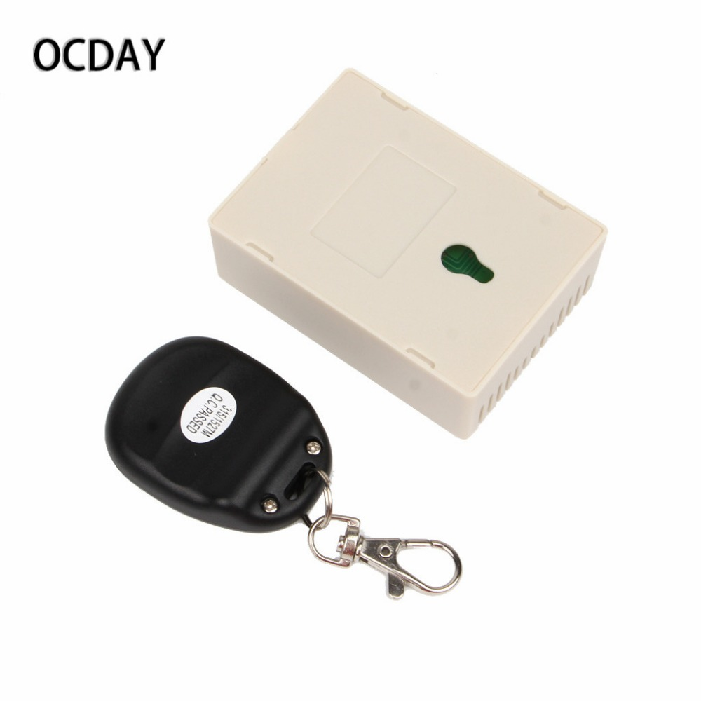 DC 12V 2CH RF Wireless Remote Control Switch System Receiver + 5 2-Button Transmitters For Appliance Gate Garage Door wireless pager system 433 92mhz wireless restaurant table buzzer with monitor and watch receiver 3 display 42 call button