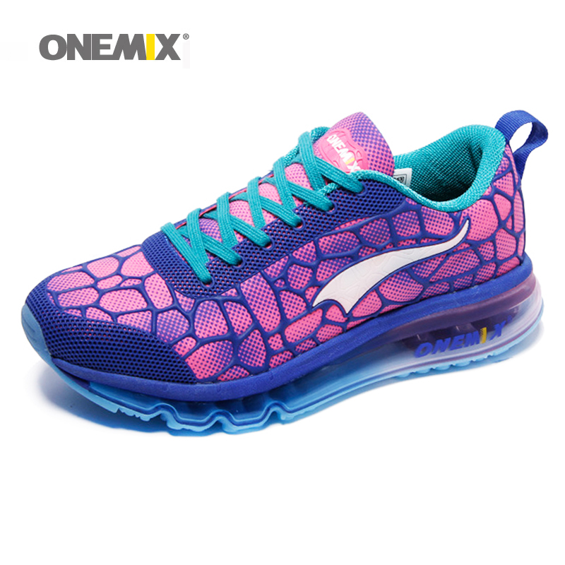 Hot onemix 2017 air running cushion original zapatos de hombre women athletic Outdoor sport shoes women running shoes size 36-40 2017brand sport mesh men running shoes athletic sneakers air breath increased within zapatillas deportivas trainers couple shoes