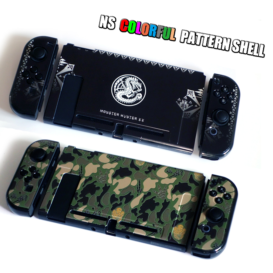 Nintend Switch NS Pattern Case Nintendos Switch Protective Hard Cover Shell Skin for Nintendo Switch Console 5