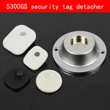 Frosted Aluminum shell sliver security tag detacher 5300GS eas magnet remover for Clothing mall Supermarket