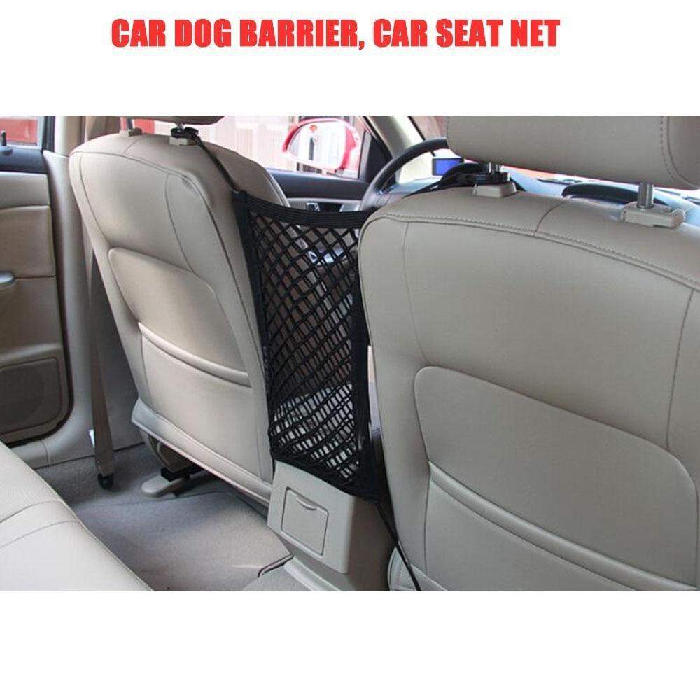 2 Pack Car Mesh Storage Bag Elastic Organiser Rear Trunk Net Pocket Pouch Holder Accessories